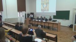 """Conferința """"Basarabia 1918-2018. Provocări la adresa României privind Unirea"""" organizată de Platforma Unionistă Acțiunea 2012"""