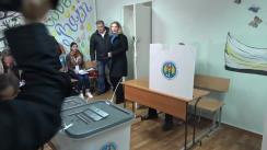 Referendum Local în mun. Chișinău 2017: Exprimarea votului de către președintele Republicii Moldova, Igor Dodon