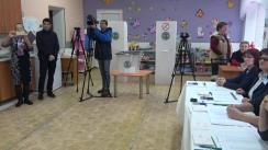 Referendum Local în mun. Chișinău 2017: Exprimarea votului de către președintele fracțiunii PSRM în Consiliul municipal Chișinău, Ion Ceban