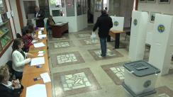 Referendum Local în mun. Chișinău 2017: Exprimarea votului de către vicepreședintele Partidului Nostru, Ilian Cașu
