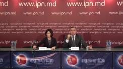 Briefing susținut de Președintele Partidului Acțiune și Solidaritate, Maia Sandu, și Președintele Partidului Platforma Demnitate și Adevăr, Andrei Năstase