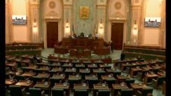 Ședința în plen a Senatului României din 21 noiembrie 2017