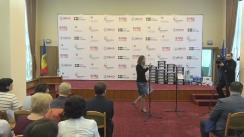Ceremonia de transmitere a seturilor de robotică către instituțiile educaționale