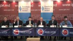"""Dezbateri publice cu tema """"Poziția de start a formațiunilor politice și potențialilor candidați independenți pe platformă pro-europeană de alternativă în prag de an electoral"""""""