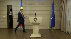Declarația fracțiunii PL în timpul ședinței Parlamentului Republicii Moldova din 23 noiembrie 2017