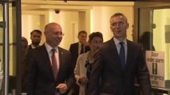 Conferință de presă susținută de Prim-ministrul Republicii Moldova, Pavel Filip, și Secretarul General al NATO, Jens Stoltenberg