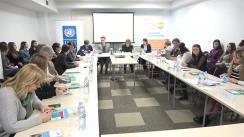 """Prezentarea raportului """"Tinerii pe piața muncii din Republica Moldova: competențe și aspirații"""", publicație elaborată cu suportul PNUD Moldova"""
