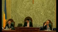 Ședința în plen a Senatului României din 27 noiembrie 2017