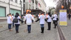 """Fashmobul desfășurat de Organizația de Femei a PAS cu genericul """"Rupe cercul tăcerii!"""""""