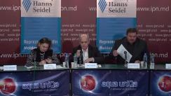 """Dezbateri publice cu tema """"Poziția de start a formațiunilor politice și potențialilor candidați independenți pe platformă pro-euroasiatică în prag de an electoral"""""""