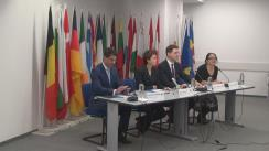 Conferință de presă dedicată prezentării rezultatelor sondajelor de opinie privind cei 10 ani de la aderarea României și Bulgariei la Uniunea Europeană