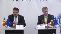 """Conferință de presă organizată de Delegația Uniunii Europene în Republica Moldova cu tema """"Prezentarea privind asistența UE și Summit-ul Parteneriatului Estic"""""""