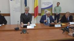 Semnarea acordului dintre Ministerul Agriculturii și Dezvoltării Rurale și Fondul European de Investiții, privind implementarea unui instrument financiar de creditare, derulat prin Programul Național de Dezvoltare Rurală 2014-2020, prin care se facilitează accesul la finanțare al fermierilor și întreprinzătorilor din mediu rural