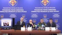 """Conferință de presă organizată de Procuratura pentru Combaterea Criminalității Organizate și Cauze Speciale cu tema """"Deconspirarea și reținerea unui grup criminal organizat, specializat în traficul internațional de droguri"""""""