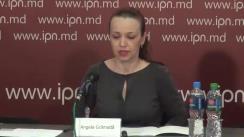 """Conferință de presă organizată de Fridrich Ebert Stiftung, oficiile din Republica Moldova și Ucraina, împreună cu Consiliul de Politică Externă PRISM din Ucraina, cu tema """"Ucraina-Moldova: o relație de tip win-win?"""""""