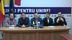 Conferință de presă susținută de reprezentanții Partidului Liberal