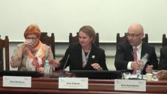 """Conferința de lansare a rezultatelor studiului """"Experiențele adverse din copilărie și influența lor asupra comportamentului și problemelor de sănătate la tinerii din Republica Moldova"""""""