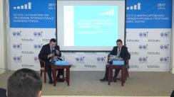 """Forumul de afaceri """"Acces la finanțare din programe internaționale"""", organizat de Camera de Comerț și Industrie a Republicii Moldova în parteneriat cu FinComBank SA"""