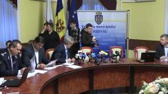 Ședința săptămânală a serviciilor primăriei Chișinău din 4 decembrie 2017