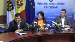 Declarațiile Silviei Radu după Ședința Primăriei din 4 decembrie 2017