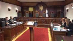 Hotărârea Curții Constituționale la proiectul de lege pentru modificarea și completarea Constituției Republicii Moldova (modificări ce vizează sistemul judecătoresc)