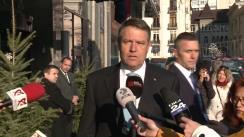 Declarație susținută de Președintele României, Klaus iohannis, în urma aflării veștii decesului Majestății Sale, Regele Mihai I