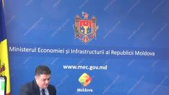 """Conferință de presă organizată de Ministerul Economiei și Infrastructurii cu tema """"Rezultatele implementării programului de reabilitare a drumurilor în 2017 și principalele obiective pentru anul 2018"""""""
