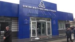 Deschiderea primului Centru multifuncțional al Agenției Servicii Publice în municipiul Strășeni
