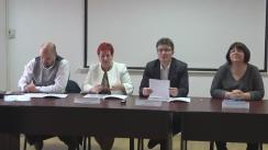 Conferință de presă organizată de Colegiul Psihologilor din România