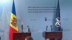 Conferință de presă susținută de Prim-ministrul Republicii Moldova, Pavel Filip, și Secretarul General adjunct al NATO, Rose Gottemoeller