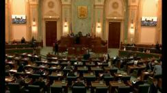 Ședința în plen a Senatului României din 11 decembrie 2017