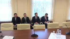 Desfășurarea concursului public pentru funcția de director al Centrului Național Anticorupție