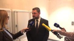 Declarațiile lui Bogdan Zumbreanu după desfășurarea concursului public pentru funcția de director al Centrului Național Anticorupție