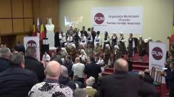 Președintele de onoare al Partidului Unității Naționale, Traian Băsescu, participă la Conferința de constituire a Organizației Municipale Chișinău a Partidului Unității Naționale