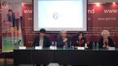 """Conferință de presă organizată de Asociația obștească """"Centrul Național pentru Protecția Proprietății"""" cu tema """"Lansarea Programului social """"60 plus"""" și a campaniei """"Vino cu bunicii la teatru"""", realizată în parteneriat cu Teatrul Național """"Mihai Eminescu"""""""