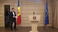 Briefing susținut de fracțiunea parlamentară a PLDM