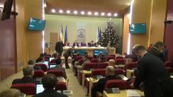 Ședința Consiliului General al Municipiului București din 19 decembrie 2017