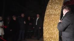 Inaugurarea târgului de Crăciun din Orhei