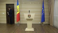 Declarațiile lui Mihai Ghimpu în timpul ședinței Parlamentului Republicii Moldova din 21 decembrie 2017