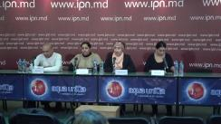 """Conferință de presă organizată de Fundația Roma Awareness cu tema """"Discriminare în instituții școlare! Caz alarmant: un copil de etnie romă, bătut de un grup de copii pe teritoriul școlii"""""""