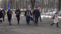 """Flashmob """"Diplomă pentru Igor Dodon"""""""