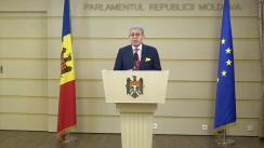 Declarațiile lui Mihai Ghimpu în timpul ședinței Parlamentului Republicii Moldova din 22 decembrie 2017