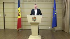 Declarațiile lui Vlad Batrîncea în timpul ședinței Parlamentului Republicii Moldova din 22 decembrie 2017