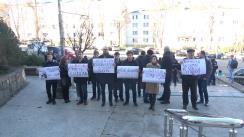 Flashmob organizat de Partidul Acțiune și Solidaritate pe problema tergiversării examinării dosarului lui Șor