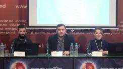 """Conferință de presă organizată de Asociația Obștească Piligrim-Demo din UTA Găgăuzia cu tema """"Prezentarea noului proiect media Nokta"""""""