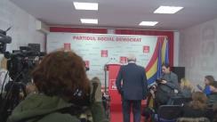 Conferință de presă după Comitetul Executiv Național al PSD din 8 ianuarie 2018