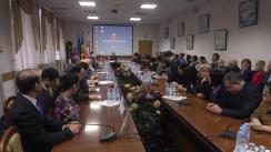 """Conferința de finalizare a celui de-al doilea proiect moldo-chinez de fortificare a capacităților Centrului de Medicină Tradițională Chineză al USMF """"Nicolae Testemițanu"""""""