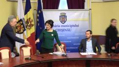 Ședința săptămânală a serviciilor primăriei Chișinău din 15 ianuarie 2018