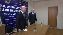 Prezentarea noului ministru al Agriculturii, Dezvoltării Regionale și Mediului, Liviu Volconovici
