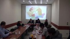 Conferință de presă susținută de deputatul PNL, Marius Bodea, și consilierul local, Răzvan Timofciuc